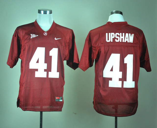 NCAA Alabama Crimson Tide 41 Courtney Upshaw Crimson Nike College Football Jersey