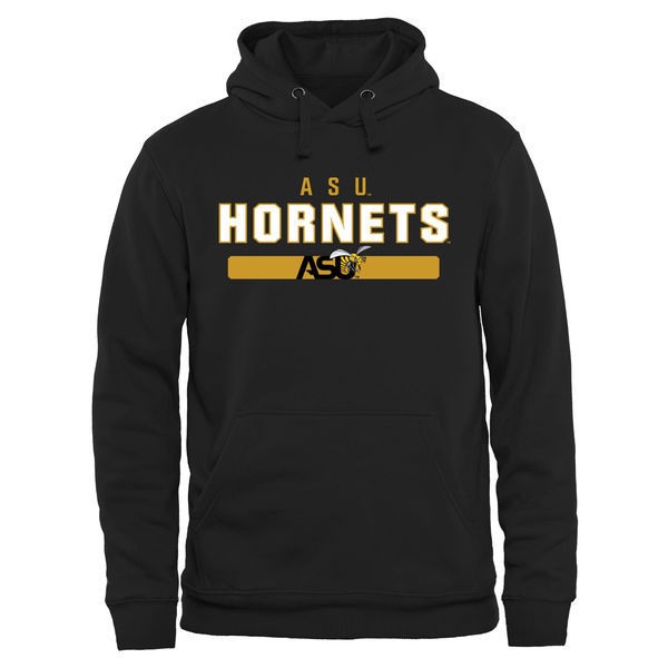 NCAA Alabama State Hornets Team Strong Pullover Hoodie - Black