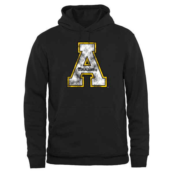NCAA Appalachian State Mountaineers Big & Tall Classic Primary Pullover Hoodie - Black