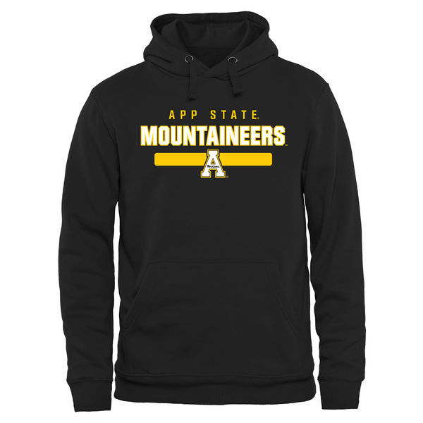NCAA Appalachian State Mountaineers Team Strong Pullover Hoodie - Black