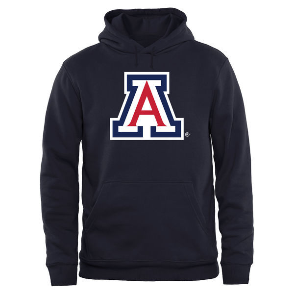 NCAA Arizona Wildcats Big & Tall Classic Primary Pullover Hoodie - Navy