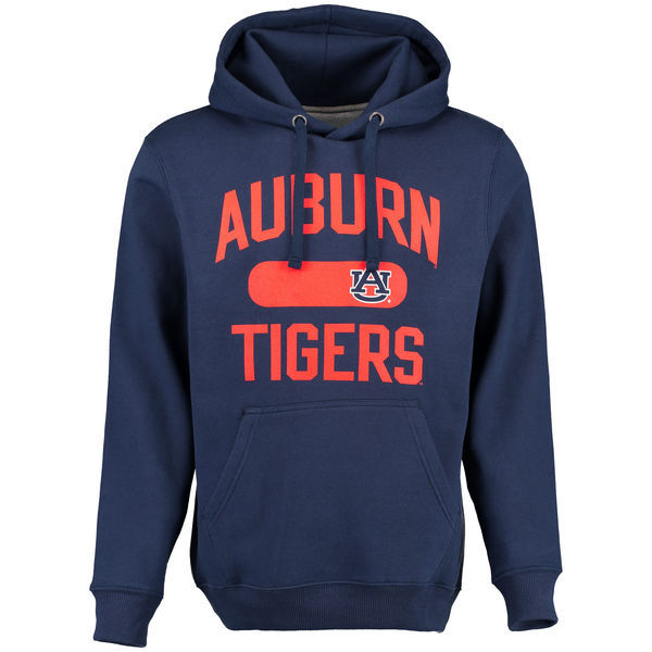 NCAA Auburn Tigers Athletic Issued Pullover Hoodie - Navy