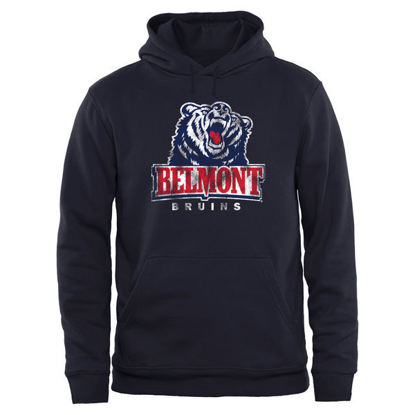 NCAA Belmont Bruins Big & Tall Classic Primary Pullover Hoodie - Navy