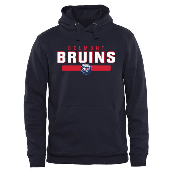 NCAA Belmont Bruins Team Strong Pullover Hoodie - Navy