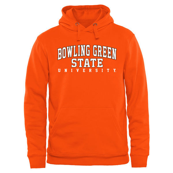 NCAA Bowling Green St. Falcons Everyday Pullover Hoodie - Orange