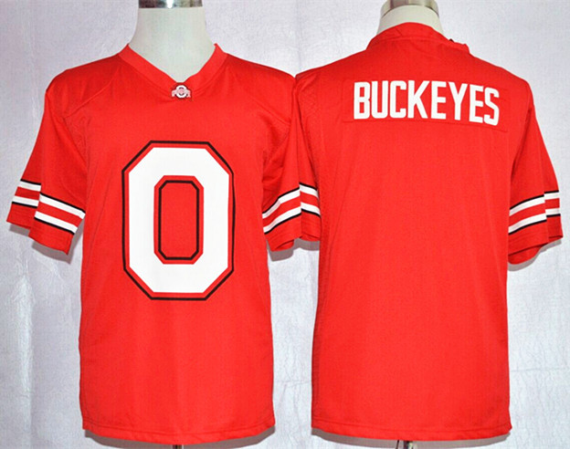 NCAA Buckeyes Ohio State Buckeyes Red Nike Team Pride Fashion Football Jersey