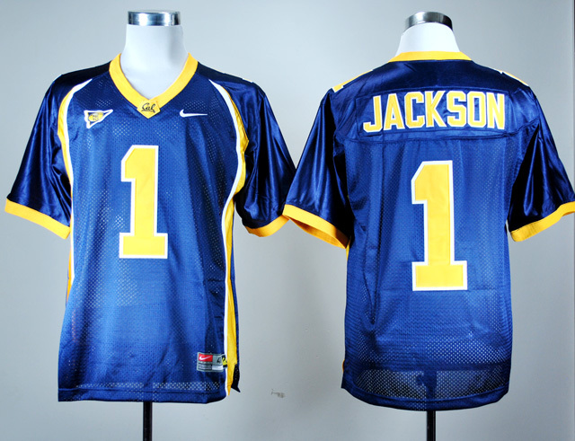 NCAA California Golden Bears 1 DeSean Jackson Navy Blue Nike College Football Jersey