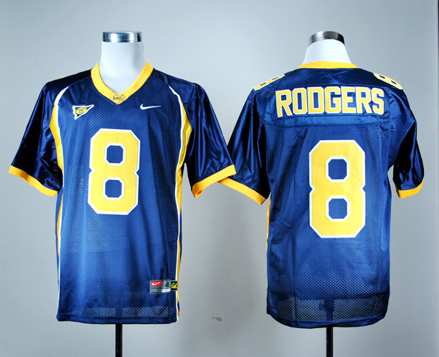 NCAA California Golden Bears 8 Aaron Rodgers Navy Blue Nike College Football Jersey