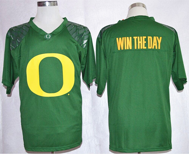 NCAA Oregon Ducks Win The Day Green Nike Team Pride Fashion Football Jersey