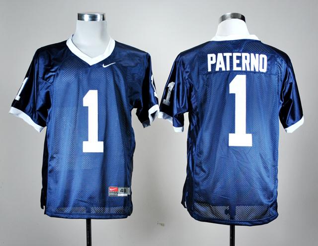 c1969b0421b NCAA Penn State Nittany Lions 1 Joe Paterno Navy Blue Nike Coach College Football  Jersey.