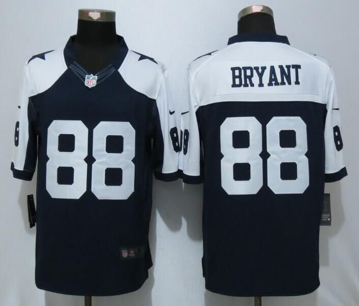 2016 Dallas cowboys 88 Bryant Blue Thanksgiving Nike Limited Jersey