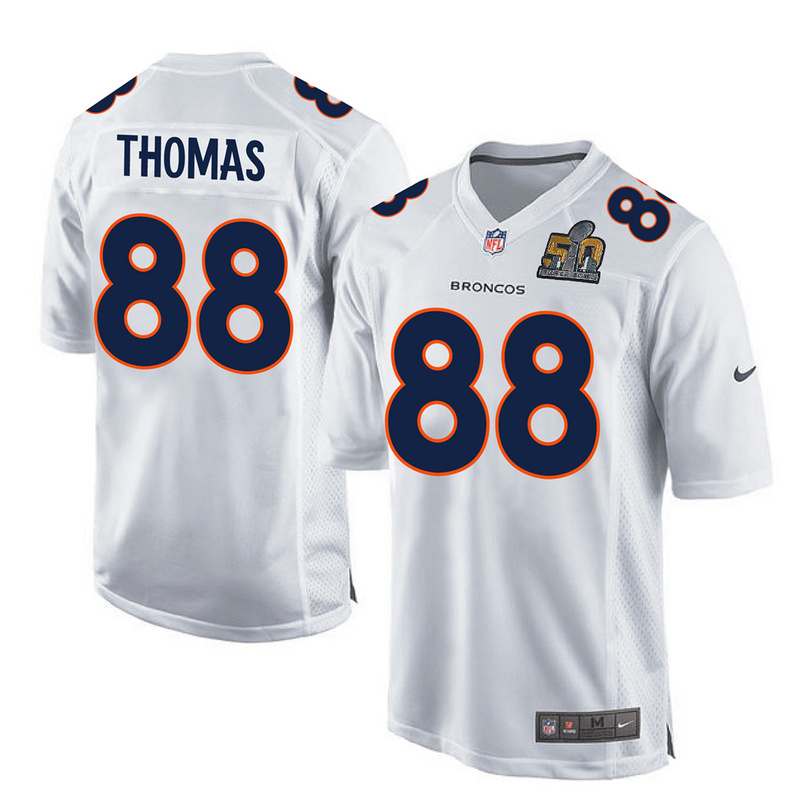 2016 Denver Broncos 88 Thomas White youth jerseys