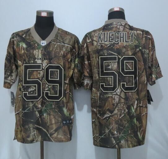 2016 New Nike Carolina Panthers 59 Kuechly Camo Elite Jerseys