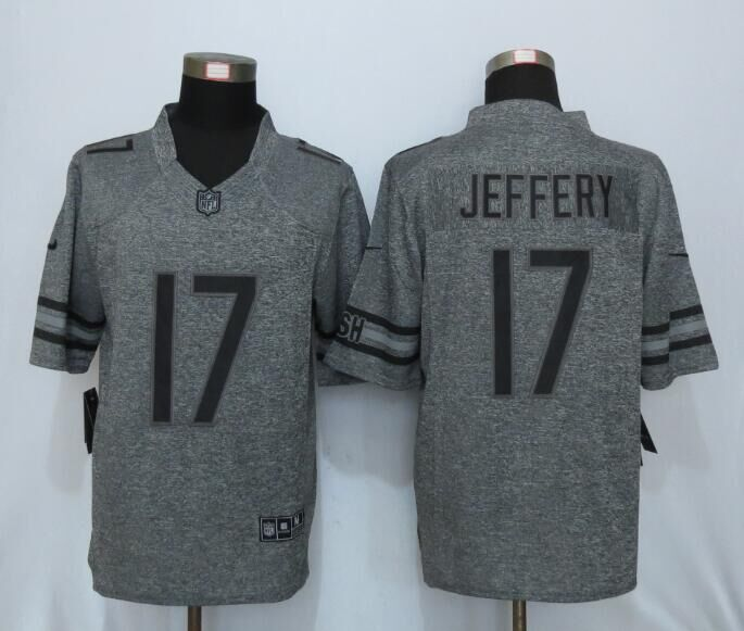 2016 New Nike Chicago Bears 17 Jeffery Gray Men's Stitched Gridiron Limited Jersey