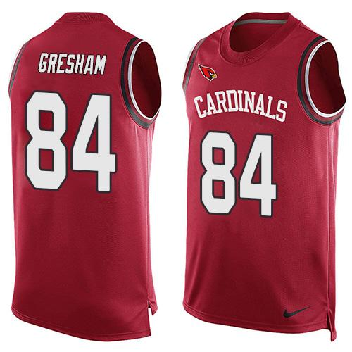 2016 Nike NFL Arizona Cardinals 84 Jermaine Gresham Red Men Stitched Limited Tank Top Jersey