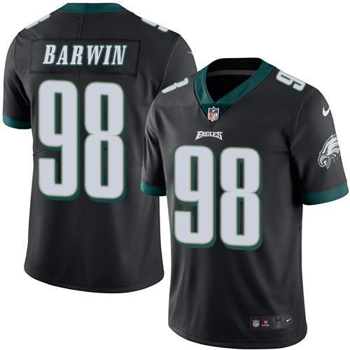 2016 Nike Philadelphia Eagles 98 Connor Barwin Black Men's Stitched NFL Limited Rush Jersey