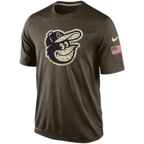 2016 Mens Baltimore Orioles Salute To Service Nike Dri-FIT T-Shirt