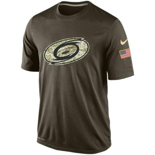 2016 Mens Carolina Hurricanes Salute To Service Nike Dri-FIT T-Shirt