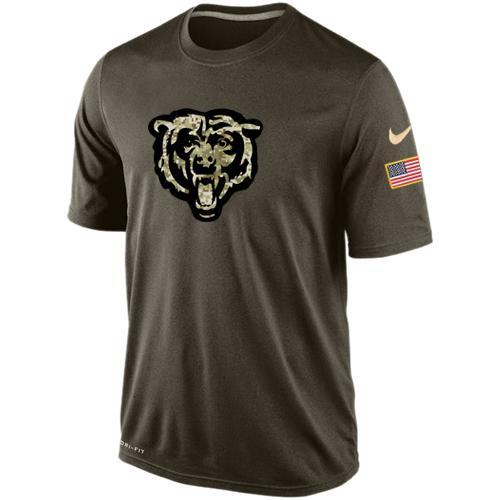 2016 Mens Chicago Bears Salute To Service Nike Dri-FIT T-Shirt