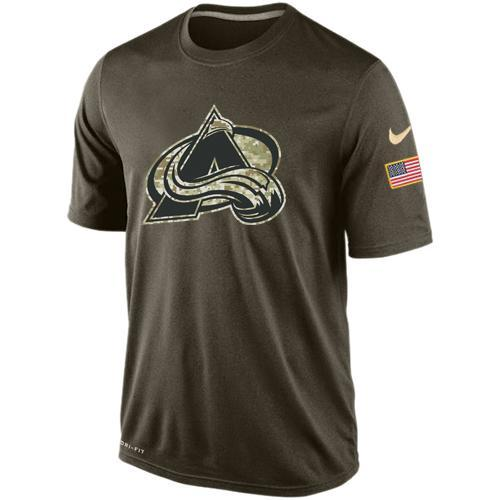 2016 Mens Colorado Avalanche Salute To Service Nike Dri-FIT T-Shirt