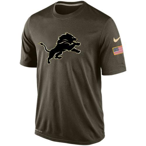2016 Mens Detroit Lions Salute To Service Nike Dri-FIT T-Shirt