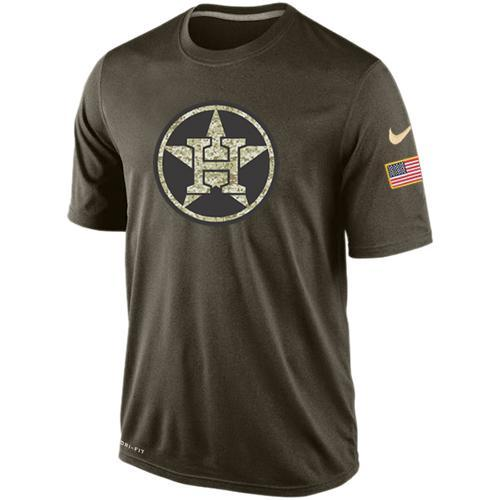 2016 Mens Houston Astros Salute To Service Nike Dri-FIT T-Shirt