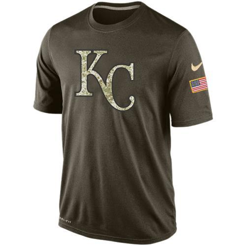 2016 Mens Kansas City Royals Salute To Service Nike Dri-FIT T-Shirt