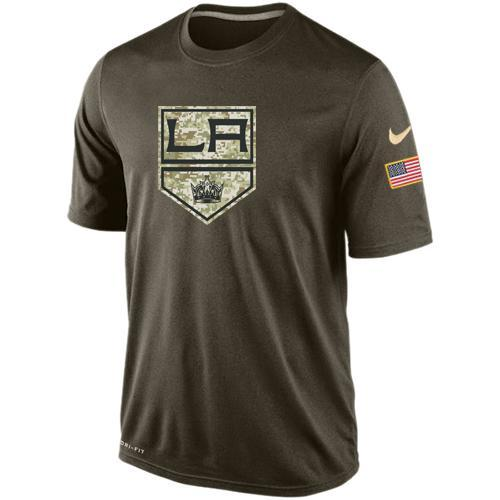 2016 Mens Los Angeles Kings Salute To Service Nike Dri-FIT T-Shirt