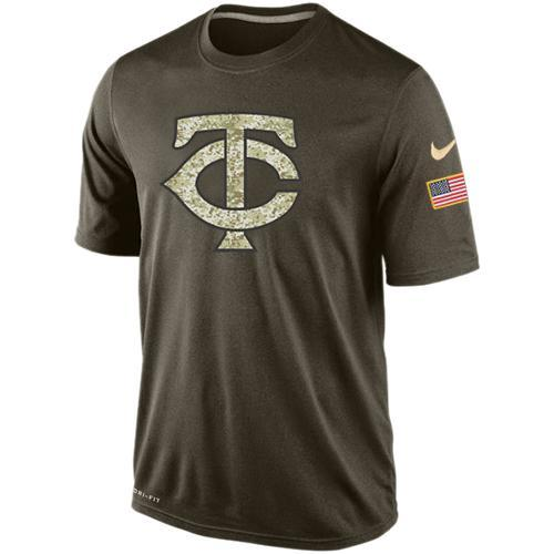 2016 Mens Minnesota Twins Salute To Service Nike Dri-FIT T-Shirt