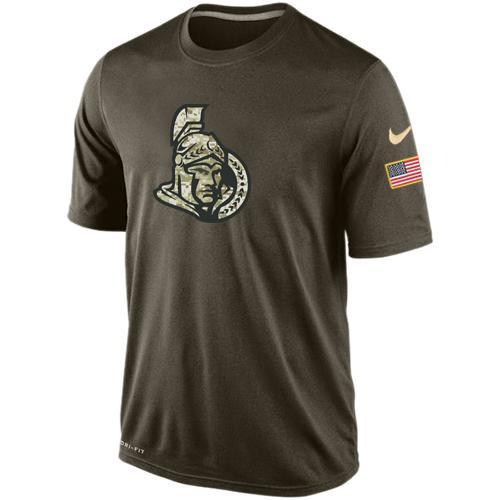 2016 Mens Ottawa Senators Salute To Service Nike Dri-FIT T-Shirt