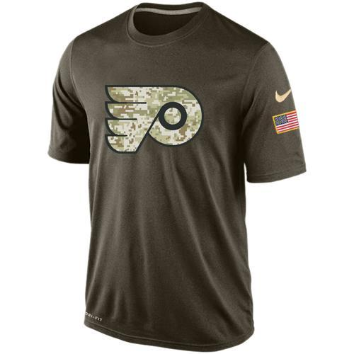 2016 Mens Philadelphia Flyers Salute To Service Nike Dri-FIT T-Shirt