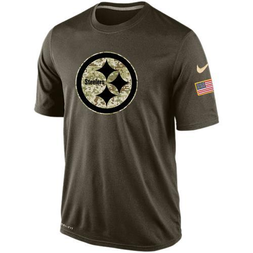 2016 Mens Pittsburgh Steelers Salute To Service Nike Dri-FIT T-Shirt