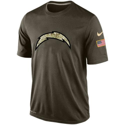 2016 Mens San Diego Chargers Salute To Service Nike Dri-FIT T-Shirt