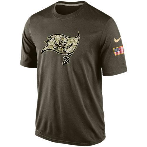 2016 Mens Tampa Bay Buccaneers Salute To Service Nike Dri-FIT T-Shirt