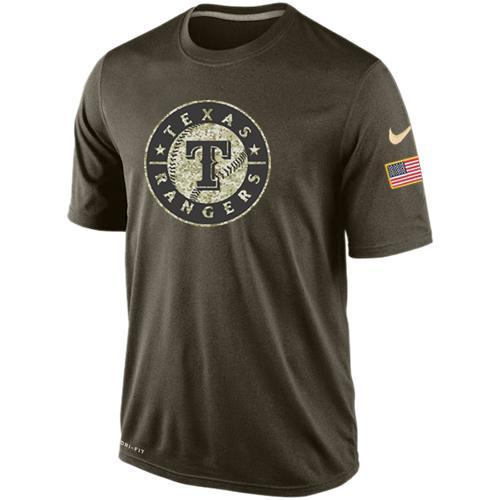 2016 Mens Texas Rangers Salute To Service Nike Dri-FIT T-Shirt