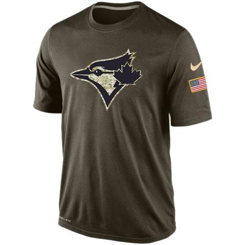 2016 Mens Toronto Blue Jays Salute To Service Nike Dri-FIT T-Shirt