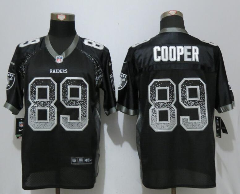 2017 NEW Nike Dallas Raiders 89 Cooper Drift Fashion Black Elite Jerseys