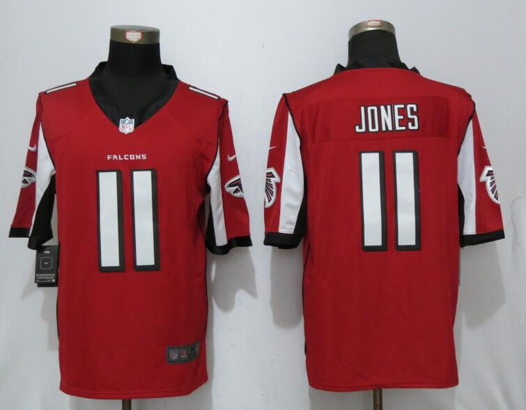 2017 New Nike Atlanta Falcons 11 Jones Red Limited Jersey