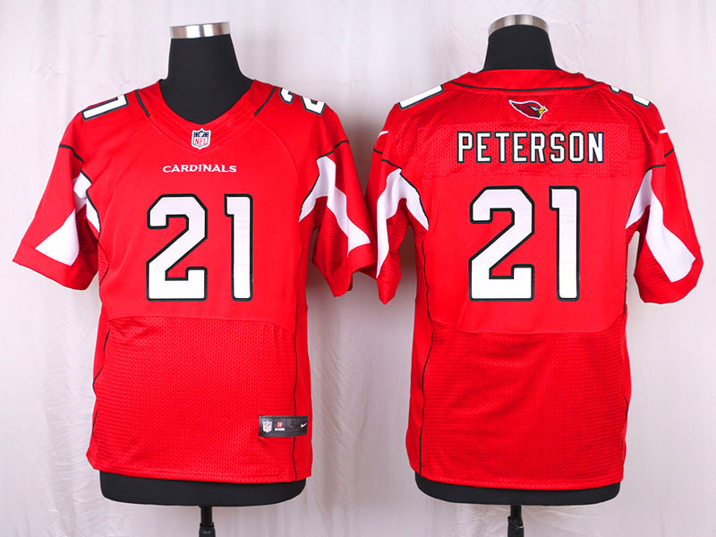 Arizona Cardinals 21 Peterson red 2016 Nike Elite Jersey