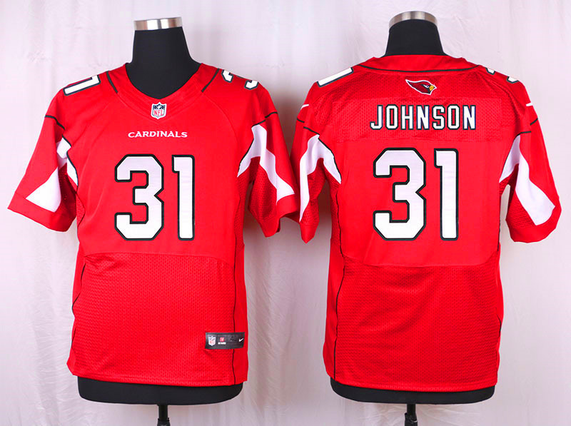 Arizona Cardinals 31 Johnson red 2016 Nike Elite Jersey