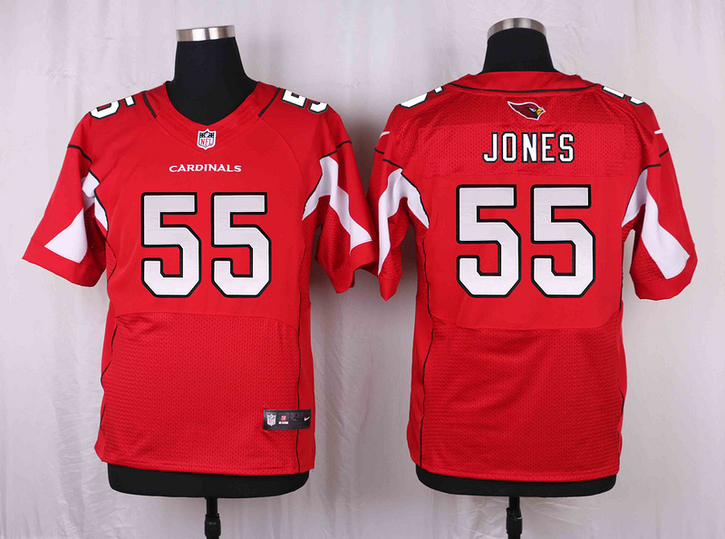 Arizona Cardinals 55 Jones Red 2016 Nike Elite Jerseys
