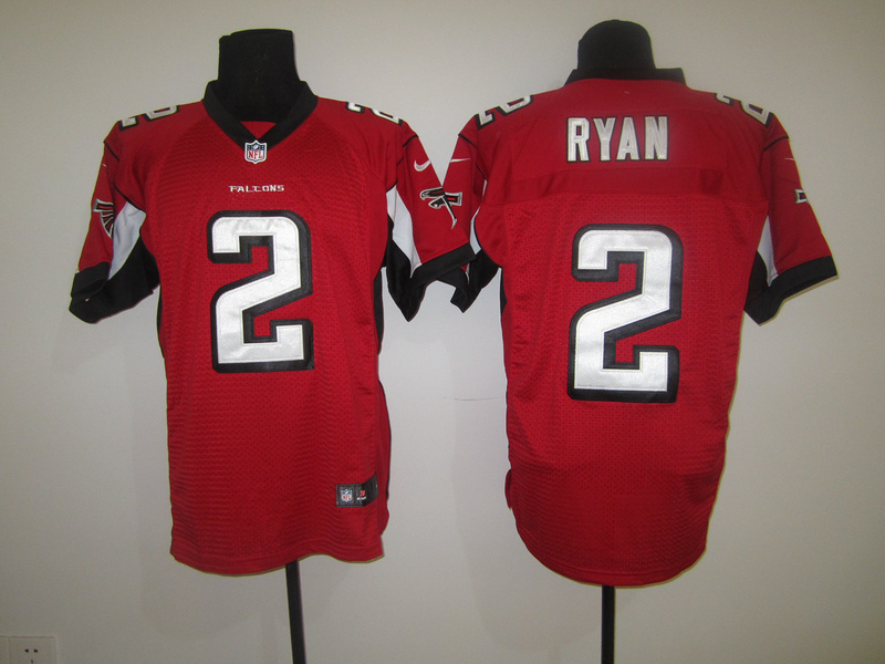 Atlanta Falcons 2 Ryan Red Nike Elite Jersey
