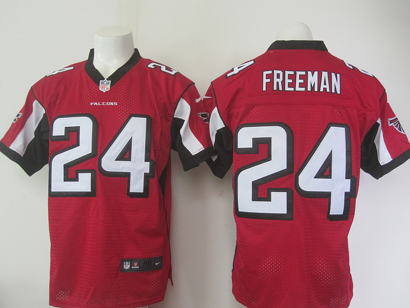 Atlanta Falcons 24 freeman red 2015 Nike Elite Jersey