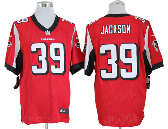 Atlanta Falcons 39 Jackson Red Nike Game Jerseys