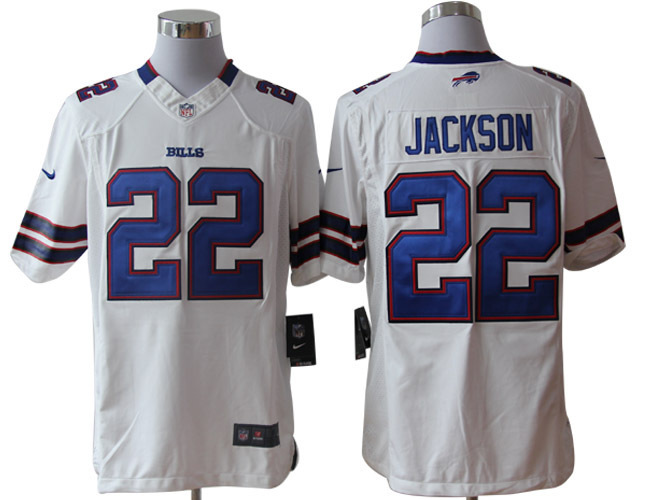 Buffalo Bills 22 Jackson White Nike Limited Jerseys