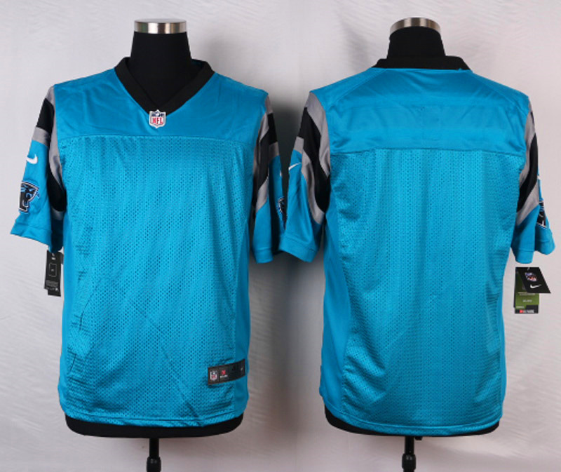 NFL Customize Carolina Panthers Blank Green 2015 Elite Nike Jerseys