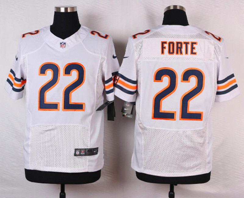 NFL Customize Chicago Bears 22 Forte White 2015 Nike elite jersey