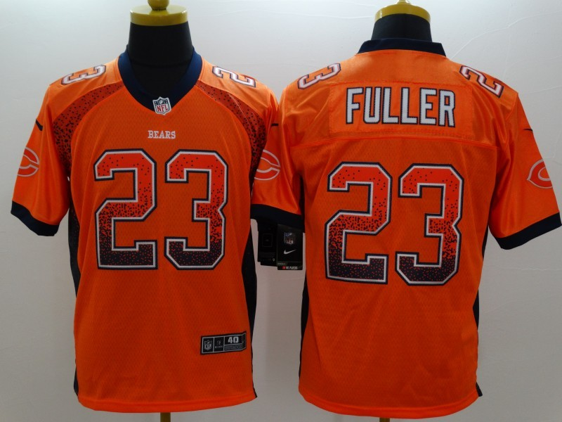Chicago Bears 23 Fuller Orange Nike Drift Fashion Elite Jerseys