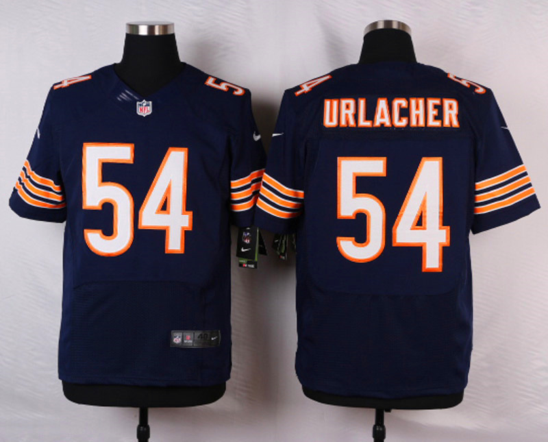 NFL Customize Chicago Bears 54 Urlacher Blue 2015 Nike Elite Jersey