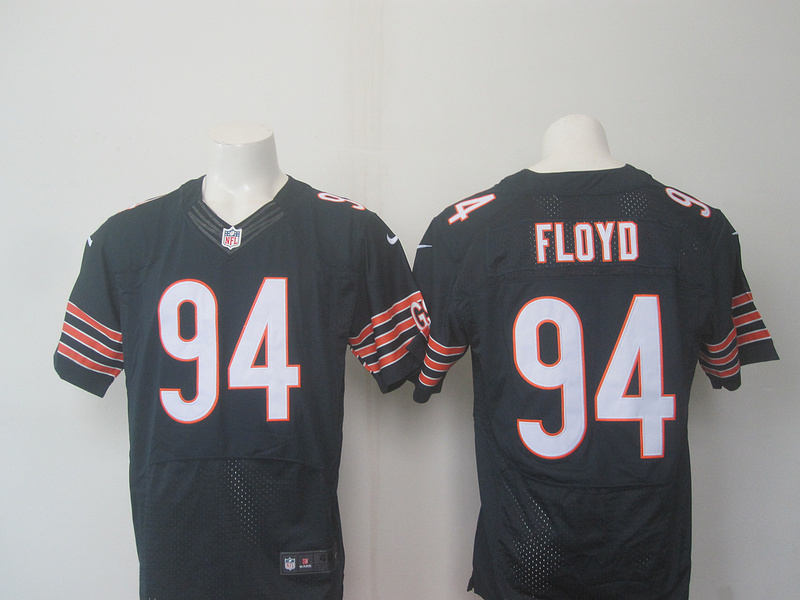 Chicago Bears 94 Floyd Blue 2016 Nike Elite Jerseys